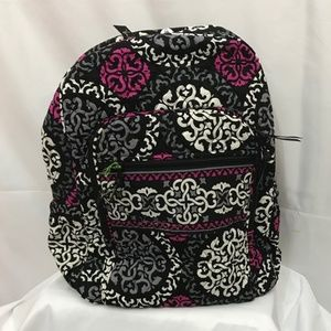 Vera Bradley Canterberry Magenta Campus Backpack